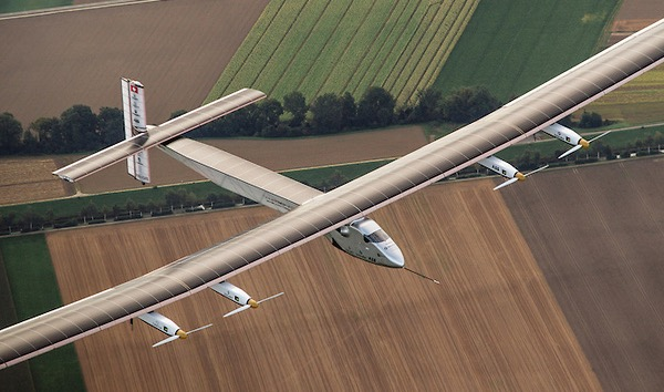 Solarimpulse, Record Solar aircraft by Bertrand Piccard and André Borschberg. Cooperation on concept and construction.